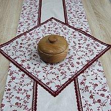 Úžitkový textil - NINA - obrus štvorec 40x40 - 10312783_