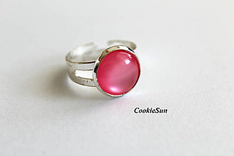 Prstene - Glamour Pink - 10314230_