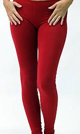 Nohavice - Legíny...červené - 10311473_