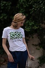 Dámske tričko z organickej bavlny Green Collection 1 ( pôvodná cena 25 € )
