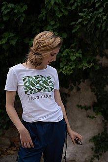 Tričká - Dámske tričko z organickej bavlny Green Collection 1 - 10315078_