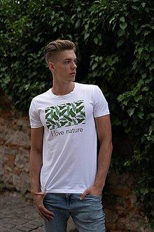 Oblečenie - Pánske tričko z organickej bavlny Green Collection 1 - 10315123_