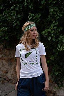 Tričká - Dámske tričko z organickej bavlny Green Collection 2 - 10315171_