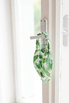 Ozdoby do vlasov - Čelenka Green collection - 10315255_