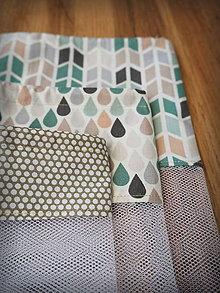 Úžitkový textil - Recyklovateľné vrecká sada (Šedá) - 10314271_
