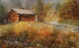 Obrazy - Jesenná idyla. - 10313857_