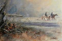 Obrazy - Romantická zimná jazda... - 10314122_