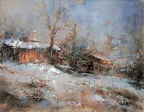 Obrazy - Posledný sneh. - 10314299_