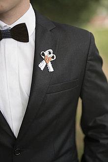 Pierka - Krémové svadobné pierka - 10312254_
