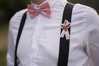 Pierka - Ružové svadobné pierka - 10313512_