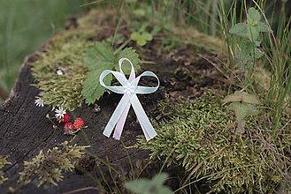 Pierka - Mentolovo - ružové svadobné pierka - 10313573_