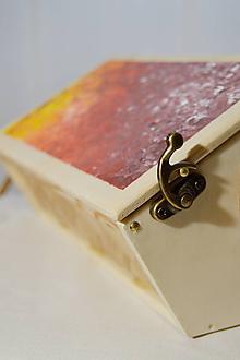 Kabelky - Dámska retro kabelka - malá s popruhom - 10314376_