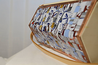 Kabelky - Dámska retro kabelka -