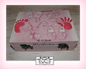Krabičky - Darček ku krstu