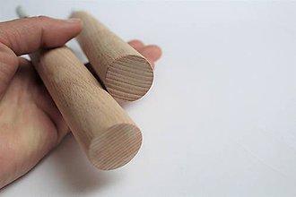 Nábytok - Silný drevený vešiak - 10313194_