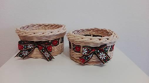 Folklórne  košíky