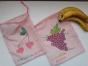 Nákupné tašky - Sada eko vreciek na ovocie a zeleninu - 2 ks - 10312822_