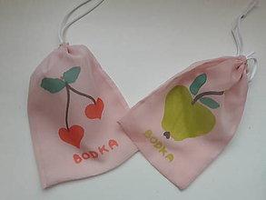 Nákupné tašky - Eko sáčok / vrecko na ovocie a zeleninu malá sada 2 ks - 10313625_
