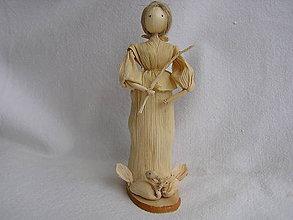 Bábiky - Šúpolienka-pastierka - 10313935_