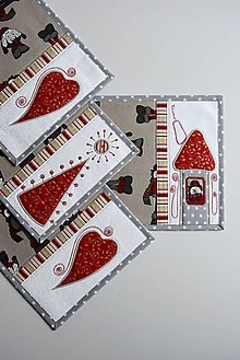 Úžitkový textil - Vianočné prestieranie No.25 :) - 10314336_