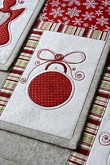Úžitkový textil - Vianočné prestieranie No.27 :) - 10314415_