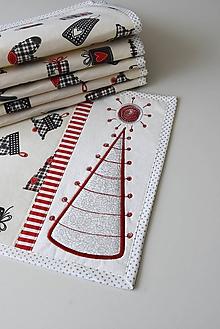 Úžitkový textil - Vianočné prestieranie No.30 :) - 10314557_