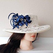Čiapky - Spoločenský klobúk - 10313026_