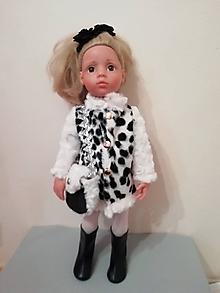 Hračky - Kabátik pre bábiku Gotz v 50 cm - 10320110_