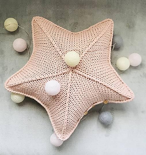 Vankúš - hviezda