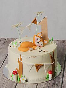 Dekorácie - Zápich na tortu číslo 1 - 10319686_