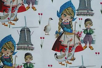 Textil - Deti s húskami úplet digi - 10317561_