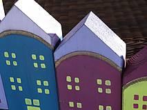 Dekorácie - Drevené domčeky - 10317586_