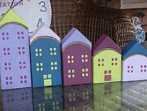Dekorácie - Drevené domčeky - 10317587_