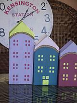 Dekorácie - Drevené domčeky - 10317588_