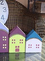 Dekorácie - Drevené domčeky - 10317589_