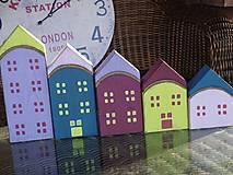 Dekorácie - Drevené domčeky - 10317591_
