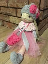 Hračky - Háčkovaná bábika - 10316027_