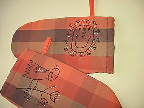 Úžitkový textil - chňapky - 10316626_