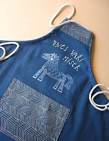Detské oblečenie - zástěra s koníkem pro děti - 10318422_