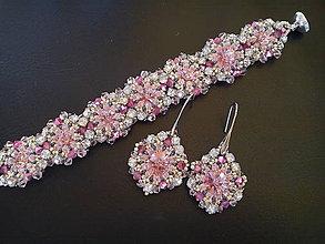 Sady šperkov - Sada Petra /Swarovski - 10316735_