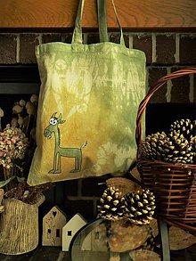 Nákupné tašky - Plátěná taška - 10317757_