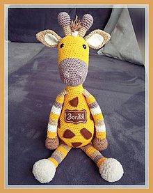 Hračky - Háčkovaná žirafa - 10317604_