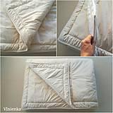 Úžitkový textil - Paplón VLNIENKA 200 x 240 cm LUXUS 100% MERINO a 100% SÝPKOVINA - 10319413_