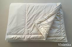 Úžitkový textil - Paplón VLNIENKA 200 x 240 cm LUXUS 100% MERINO a 100% SÝPKOVINA - 10319416_