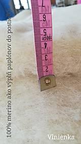 Úžitkový textil - Paplón VLNIENKA 200 x 240 cm LUXUS 100% MERINO a 100% SÝPKOVINA - 10319446_