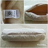 Úžitkový textil - Zdravotný valček VLNIENKA relaxačný vankúš 100% ovčie RÚNO MERINO a 100% sýpkovina - 10319505_