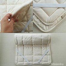 Úžitkový textil - THERMO podložka na matrac 100% MERINO - 10319476_