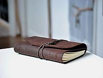 Papiernictvo - kožený zápisník BARNABÉ - 10318647_