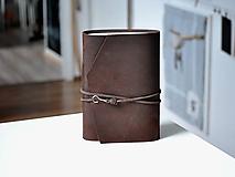 Papiernictvo - kožený zápisník BARNABÉ - 10318648_