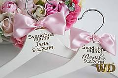 Nábytok - Vešiaky pre svadobné mamy - 10316424_